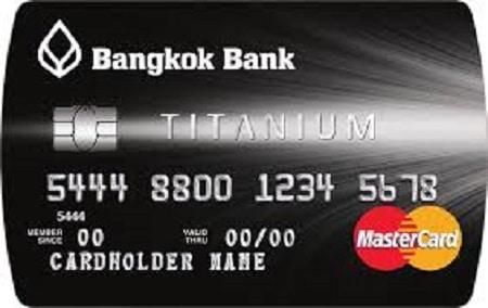 บัตรเครดิต ไทเทเนียม ธนาคารกรุงเทพ (Bangkok Bank Titanium)