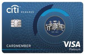บัตรเครติด ซิตี้ รีวอร์ด วีซ่า (Citi Rewards Visa)