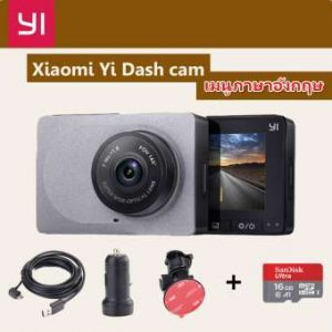 กล้องติดรถยนต์ Xiaomi Yi Car Dash Cam 1080p Camera wiFi DVR