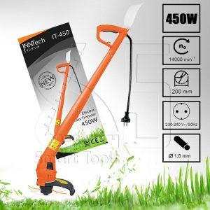 InnTech เครื่องตัดหญ้า เล็มหญ้า 450 วัตต์ รุ่น IT-450
