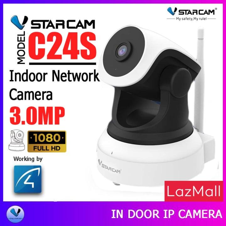 VSTARCAM กล้องวงจรปิดไร้สาย รุ่น C24S ยี่ห้อไหนดี